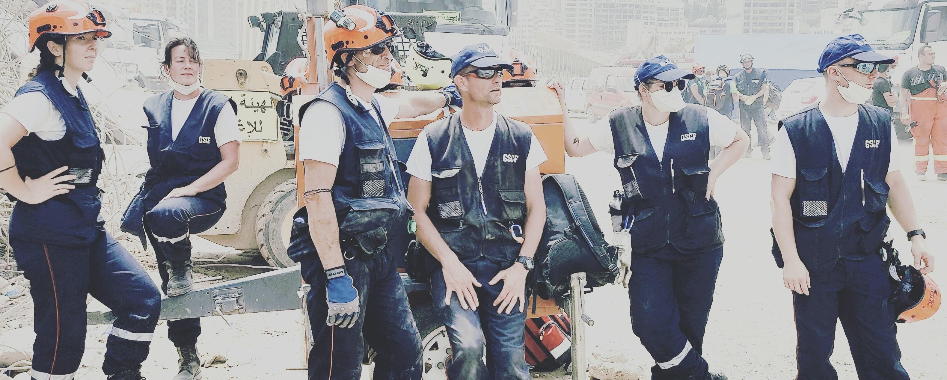 Pompiers-humanitaires du GSCF